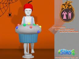 Cupcake Costume Coupure électrique Sims 4 Cc Cupcake Costume