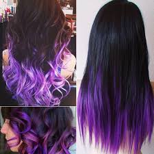 weave hairstyles with purple tips purple black hair color hairstyle for women man