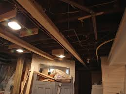 enough light for basement ceiling ideas three dimensions lab