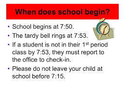class bell rings images Welcome to 6 th grade when does school begin school begins at 7 jpg