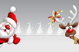 christmas card free photo santa claus christmas christmas card reindeer max pixel