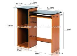 Computer Desk Cherry Wood Wooden Computer Table Online India Bush Somerset Collection 60