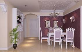 Beautiful Purple Dining Room Decorating Ideas - Purple dining room