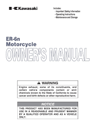 er6n owner manual gasoline motorcycle