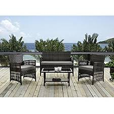 Gp Products Patio Furniture Amazon Com Patio Furniture Set Clearance Dining Set 4 Piece