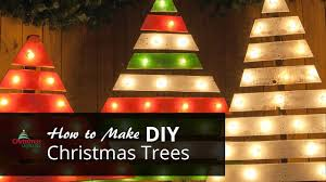 christmas tree with lights diy christmas trees with marquee lights