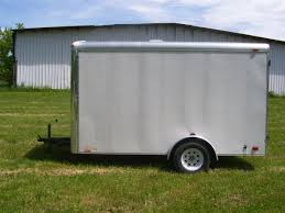 cargomate silver crown 7x12 single axle trailer customize it