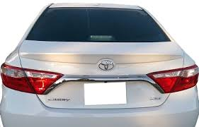 toyota camry spoiler toyota camry lip factory style spoiler 2015 2017