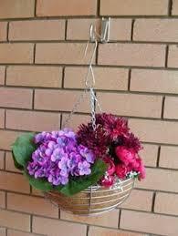 planter hanger hook for brick walls hang pot plants hanging