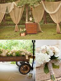 Wedding Ideas Rustic Outdoor Wedding Decoration Idea natural