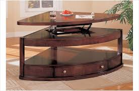 pie shaped lift top coffee table the simple stores thom contemporary pie shaped lift top coffee table