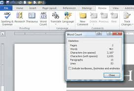 How To Count Number Of Words In Word Document How To Count The Number Of Characters Or Letters And Words In