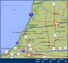map of southwest the area maps for southwest michigan the southwest michigan