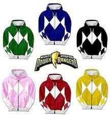 Power Rangers Halloween Costumes Adults Power Rangers Costume Hoodie Sweatshirt Power Rangers