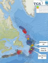 map east coast canada tgs and pgs r up 3d activity offshore eastern canada tgs