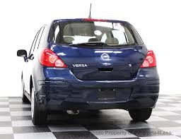 2007 used nissan versa certified versa s hatchback 6 speed manual