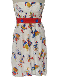 50s retro mini dress 50s style voom by joy han womens white