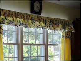 kitchen design ideas window treatments tie up curtain pattern