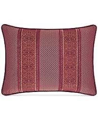 Red Decorative Pillow Throw Pillows And Decorative Pillows Macy U0027s