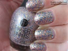 right on the nail right on the nail fingerpaints nail color