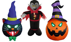 4 foot halloween inflatables groupon goods