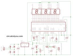 icl7107 digital voltmeter circuits4you com