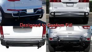 honda odyssey rear bumper tyger custom fit 09 10 honda odyssey stainless steel rear bumper
