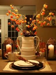 thanksgiving table centerpiece ideas fall flowers 22 63 pieces