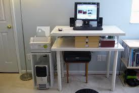 Ikea Desk Hack by Cool 10 Standing Office Desk Ikea Design Ideas Of Ikea Standing