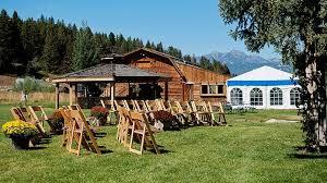 Wedding Venues In Montana Wedding Venues Rainbow Ranch Lodge Big Sky Canyon Village Mt Usa