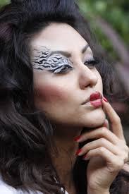 Halloween Animal Makeup Zebra Print Eye Shadow Fairylooks Pinterest Makeup Eye And