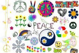 foto hippie figli dei fiori hippie make up anni 60 smile ヅ