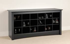 Shoerack Bench Shoe Storage Cubbie Bench Black Walmart Canada