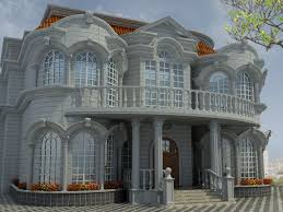 villa exterior 3d model 40 complete success loversiq