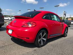 volkswagen coupe hatchback certified pre owned 2014 volkswagen beetle coupe 2 0t turbo r line