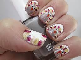 xo noelle lifestyle thanksgiving nail challenge