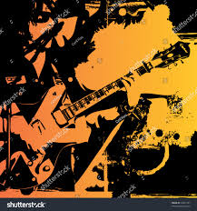 grungy music themed background cover stock vector 18437107