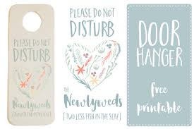 wedding door hanger template do not disturb the newlyweds door hanger printable free