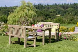 Bench And Table Set Emily Table And Bench Set Hayes Garden World