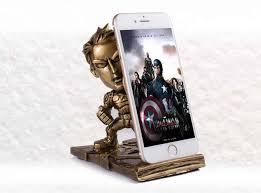 Cell Phone Holder For Desk Portable Captain America Desk Cell Phone Stand Holder Feelgift