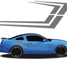 mustang decals mako automotive vinyl graphics and decals kit shown on ford