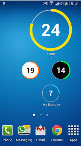 widget android excellent 10 free countdown android widgets