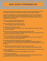 scottsdale golf course and club orange tree golf club loyalty