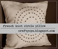 645 workshop by the crafty cpa return on creativity french knot