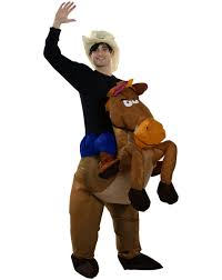 cowgirl costume for halloween popular inflatable horse costume buy cheap inflatable horse