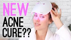 neutrogena face mask light trying the new neutrogena visibly clear light therapy mask youtube