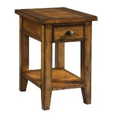 Chair Side Table Cross Country Saddle Brown Chair Side Table Rc Willey Furniture