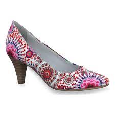 femme bottines u0026 boots tamaris escarpins en textile femme 22455
