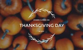 list of stores closed on thanksgiving day in 2017 frugal buzz