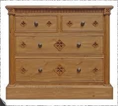 minster gothic range of gothic style hand made pine bedroom minster gothic classic chest 2 over 2 chest of drawers